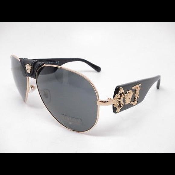 762da261fab2 2150Q Versace Designer Medusa Sunglasses Shades
